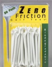 Zero Friction Tees 3.25 Inch - 35 Count Package