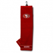 NFL San Fransisco 49ers Embroidered Golf Towel
