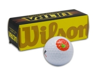 Left Hand Thumbs up Wilson Golf Balls - Pack of 3