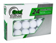 Top Flite Mix Pre-Owned Recycled Official Golf Balls,24-Pack