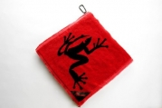 Frogger Amphibian Towel, Red Golf Equipment / Gear Store
