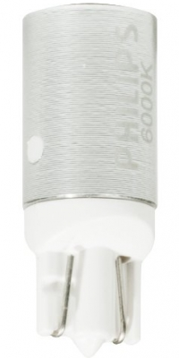 Philips 129666000KX2 XtremeVision 12V T10 LED Interior/Exterior Retrofit Bulb (Pack of 2)