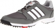 adidas Men's Tech Resonse 4.0 Golf Shoe,Iron/White/Black,11 M US