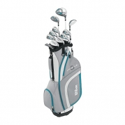 Wilson Women's Profile XLS Complete Package Golf Set, Right Hand, Teal, Petite