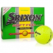 Srixon Men's Soft Feel Golf Ball (1-Dozen, Tour Yellow)