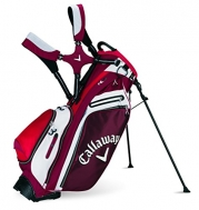 Callaway 2015 Hyper-Lite 5 Golf Stand Bag, Red/White/Black