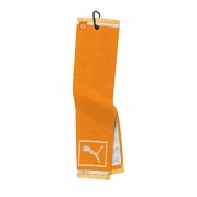 Puma Tri-Fold Club Towel - Vibrant Orange