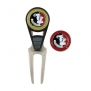 Florida State Golf Ball Mark Repair Tool and Ball Markers