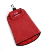 BrightSpot Solutions Spotless Swing Premium Multi-Use Golf Towel, Red with Black Trim