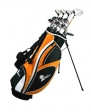 Palm Springs Golf VISA MENS GRAPHITE Hybrid Club Set & Stand Bag
