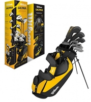 WILSON ULTRA Mens Right Handed Complete Package Golf Club Set w/ Bag - WGGC25000