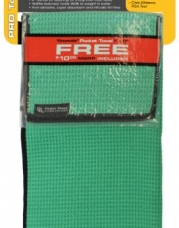 Club Glove Retail Microfiber Tandem Towel Set (Green)